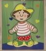 Układanka drewniana Chłopiec (92-H0436)