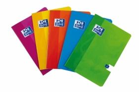 Zeszyt Oxford Sweet A5 linia podwójna kolorowa 16 kartek