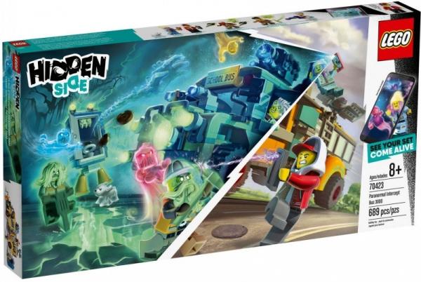 Lego Hidden Side: Autobus Duchozwalczacz 3000 (70423)
