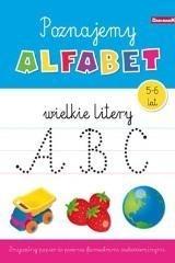 Książeczka edukacyjna. Poznajemy alfabet duże lit. praca zbiorowa