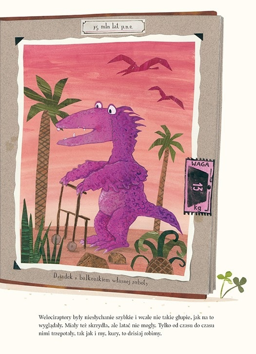 Dziobem, piórem i pazurem o dinozaurach van Genechten Guido