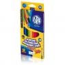 Kredki ołówkowe akwarelowe, 12 kolorów + pędzelek (312110004)