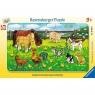 Puzzle ramkowe 15: Zwierzęta domowe (6046) Wiek: 3+