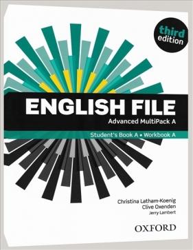 English File. Język angielski. Advanced Multipack A. Podręcznik + zeszyt praca zbiorowa