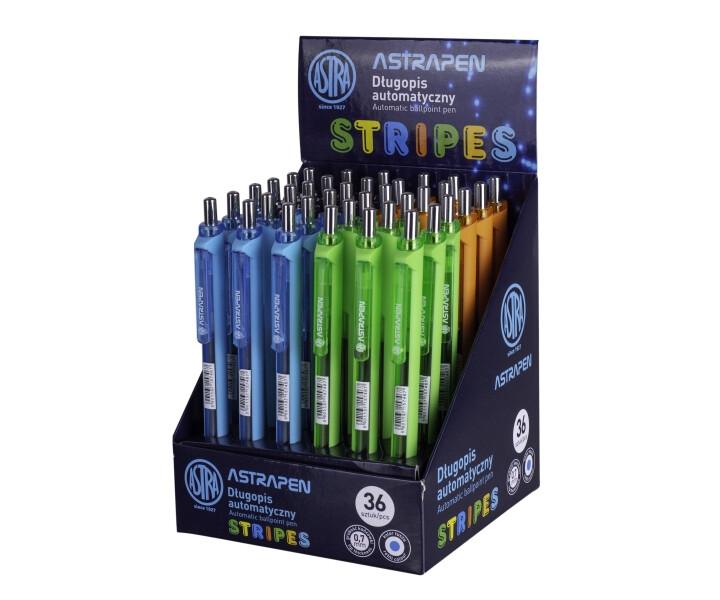 Długopis automatyczny Stripes, 0,7mm (201120003)