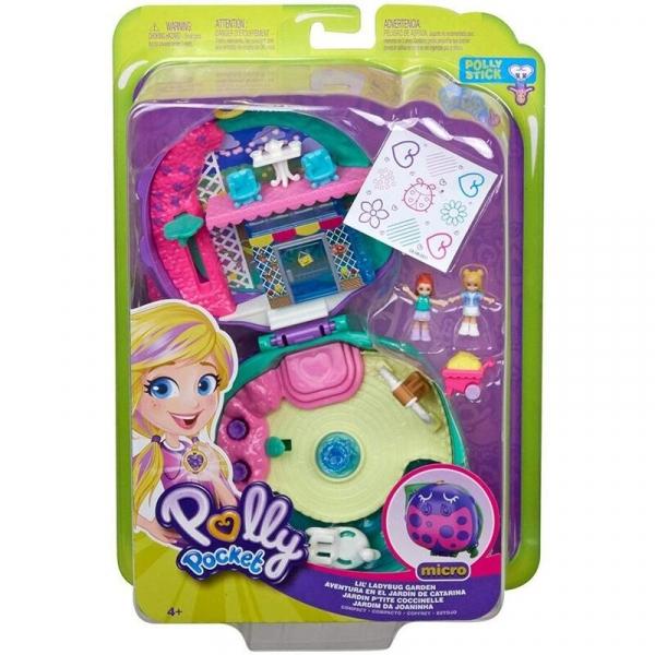 Polly Pocket: Ogródek małej biedronki - zestaw kompaktowy (FRY35/GKJ48)