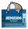 Zwierzęca zakładka do książki - Hedgehog - Jeż