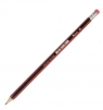 Ołówek techniczny Titanum 3H z gumką (83721)