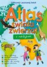 Atlas świata zwierząt z naklejkami praca zbiorowa