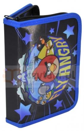 Piórnik szkolny z wyposażeniem Angry Birds Rio AGE-001