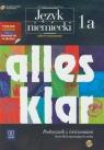 Alles klar 1A Podręcznik z ćwiczeniami z płytą CD Zakres rozszerzony Kurs Łuniewska Krystyna, Tworek Urszula, Wąsik Zofia, Zagórna Maria