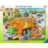 Puzzle ramkowe 35: Śmieciarka (6346) Wiek: 4+