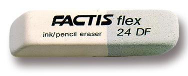 Gumki 24-DF dwustronne duże (24szt) FACTIS