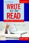 Write to Be Read 2Ed SB William R. Smalzer