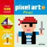 Pixel art Piraci Kolorowanka