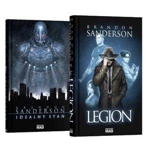 Pakiet: Legion / Idealny stan Brandon Sanderson