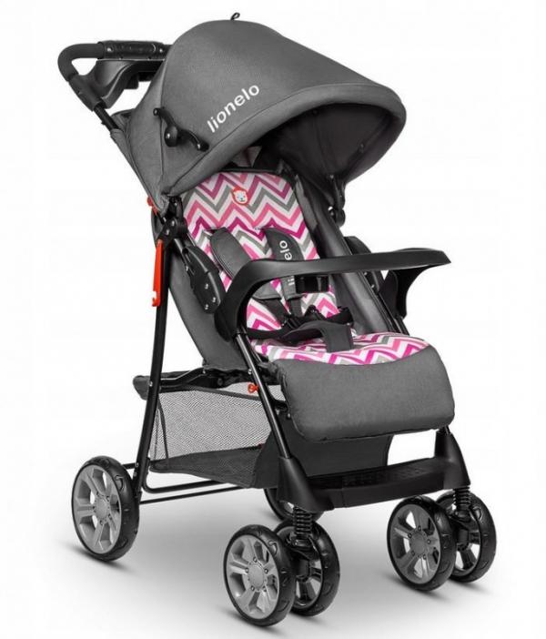 Wózek spacerowy Emma Plus Różowy (56469)