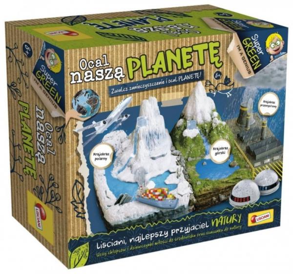 Zestaw naukowy IM A Genius Ocal naszą planetę (304-PL84296)