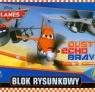Blok rysunkowy A4 Planes 20 kartek Dusty Echo Bravo