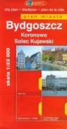 Bydgoszcz plan miasta 1:23 000 Koronowo Solec Kujawski