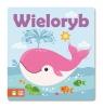 Z książką w kąpieli Wieloryb