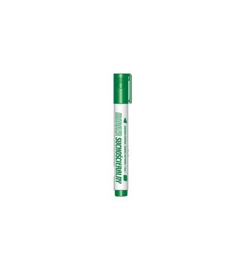 Marker suchościeralny zielony