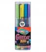 Długopisy brokatowe trójkątne Colorino kids 12 kolorów