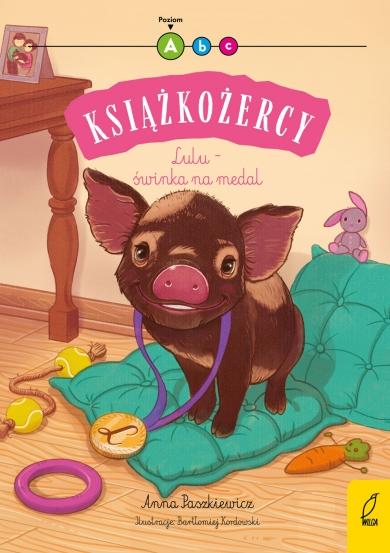 Książkożercy. Lulu - świnka na medal. Poziom A Anna Paszkiewicz