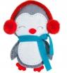 Zestaw kreatywny - maskotka z filcu pingwinek