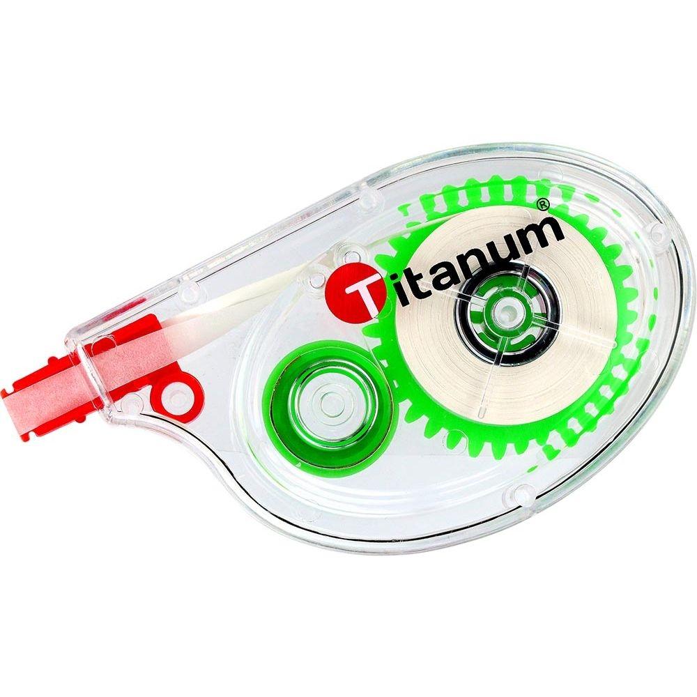 Korektor w taśmie Titanum 5mm x 6m, boczny (94245)