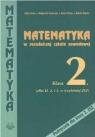 Matematyka ZSZ KL 2. Podręcznik Alicja Cewe