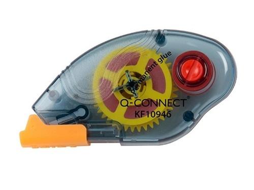 Klej w taśmie Q-CONNECT permanentny 6,5x8,5 mm