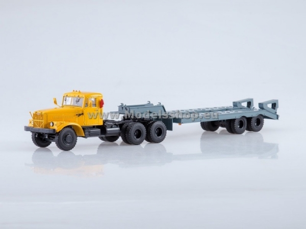 KRAZ-258 Tractor Truck with Heavy Trailer CHMZAP-5523 (AI7026)