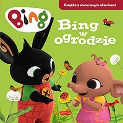 Bing w ogrodzie. Książka z otwieranymi okienkami Emma Drage