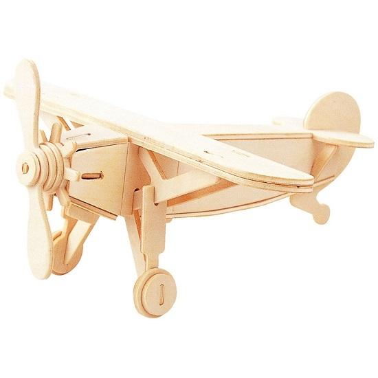 Łamigłówka drewniana Gepetto - Samolot (105673)
