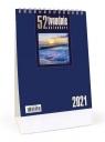 Kalendarz 2021 Biurkowy - 52T granatowy CRUX praca zbiorowa