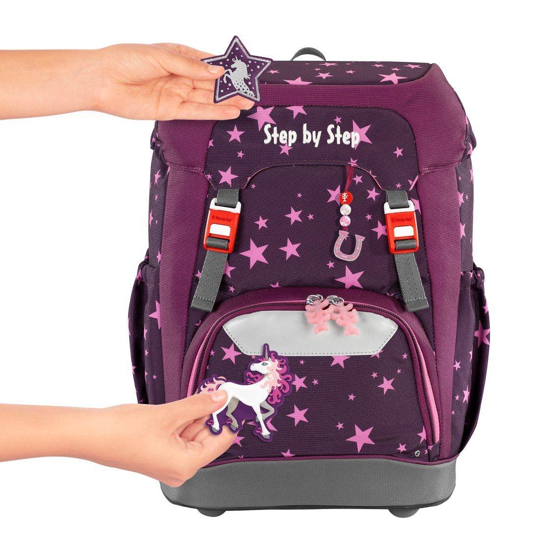 Step by Step, Plecak szkolny Grade set 5 - Unicorn (129667)
