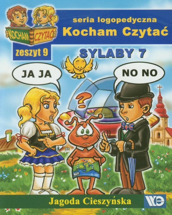 Kocham Czytać Zeszyt 9 Sylaby 7 Cieszyńska Jagoda