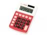 Kalkulator Milan 8 pozycyjny, czerwony