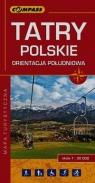 Tatry Polskie orientacja południowa mapa turystyczna