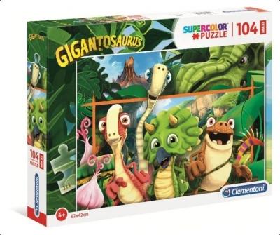 Puzzle 104 Maxi Super Kolor Gigantosaurus