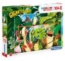 Clementoni, puzzle Maxi SuperColor 104: Gigantosaurus (23747)