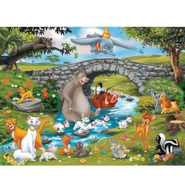 RAVEN. 100 EL. XXL Zwierzęta Disneya (109470)