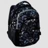 Plecak młodzieżowy czarno-szary