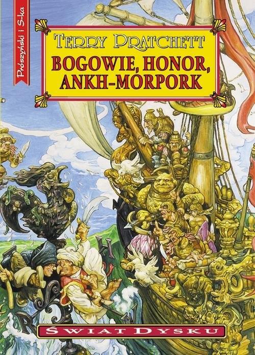 Bogowie, honor, Ankh-Morpork Pratchett Terry