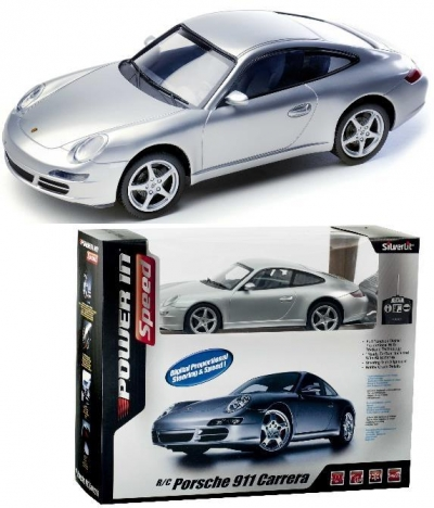 Samochód sterowany 1:16 Porshe 911 Carrera SilverLit