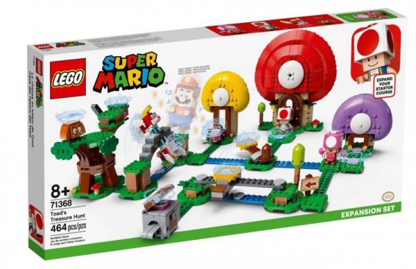 Klocki Super Mario Toad szuka skarbu - zestaw rozszerzony (71368)