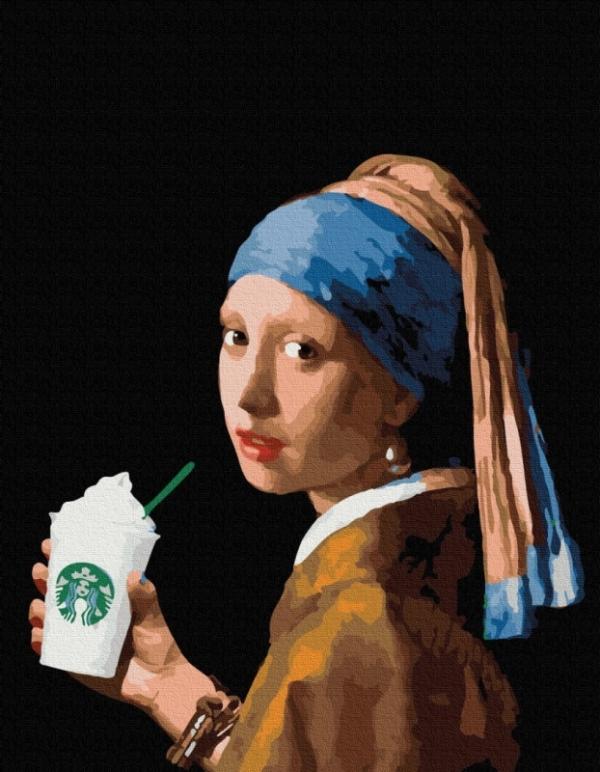 Obraz Malowanie po numerach - Latte (PGX36701)