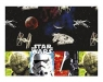 Obrus foliowy 120 x 180cm Star Wars