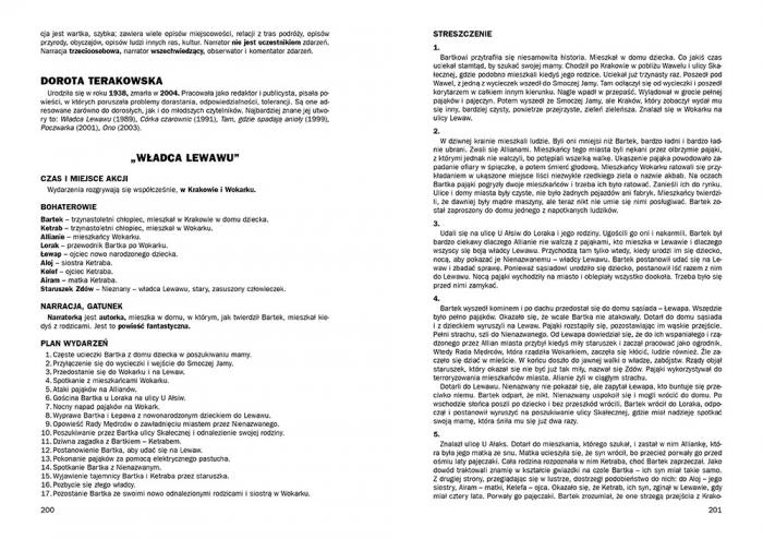 Opracowania lektur i wierszy - szkoła podstawowa Aldona Szóstak, Elżbieta Seweryn, Dorota Stopka, Bogumiła Wojnar